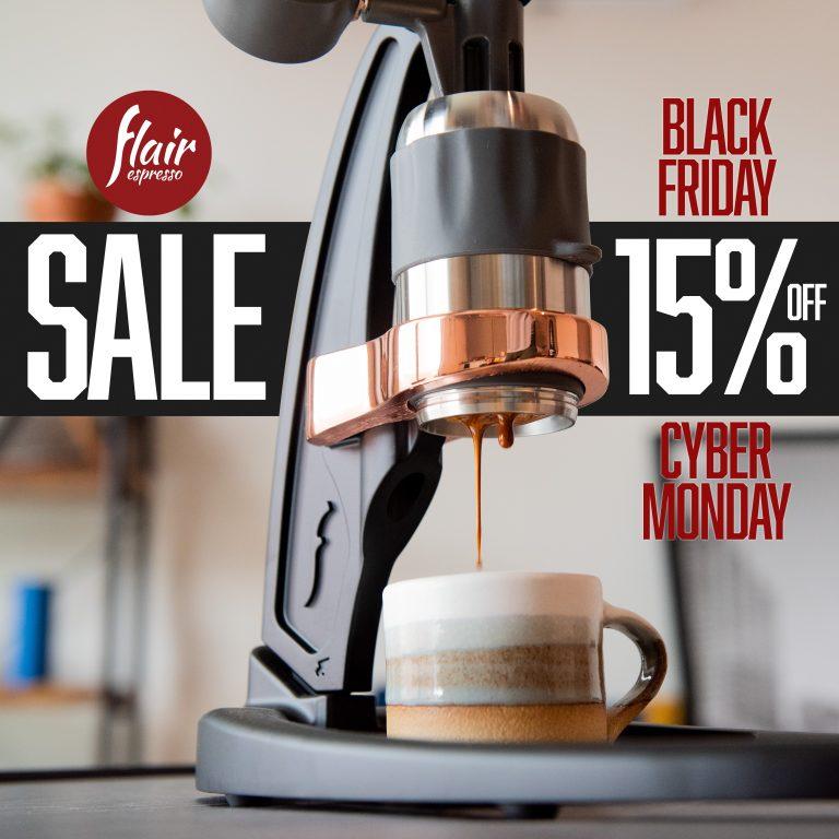 Flair Espresso Black Friday