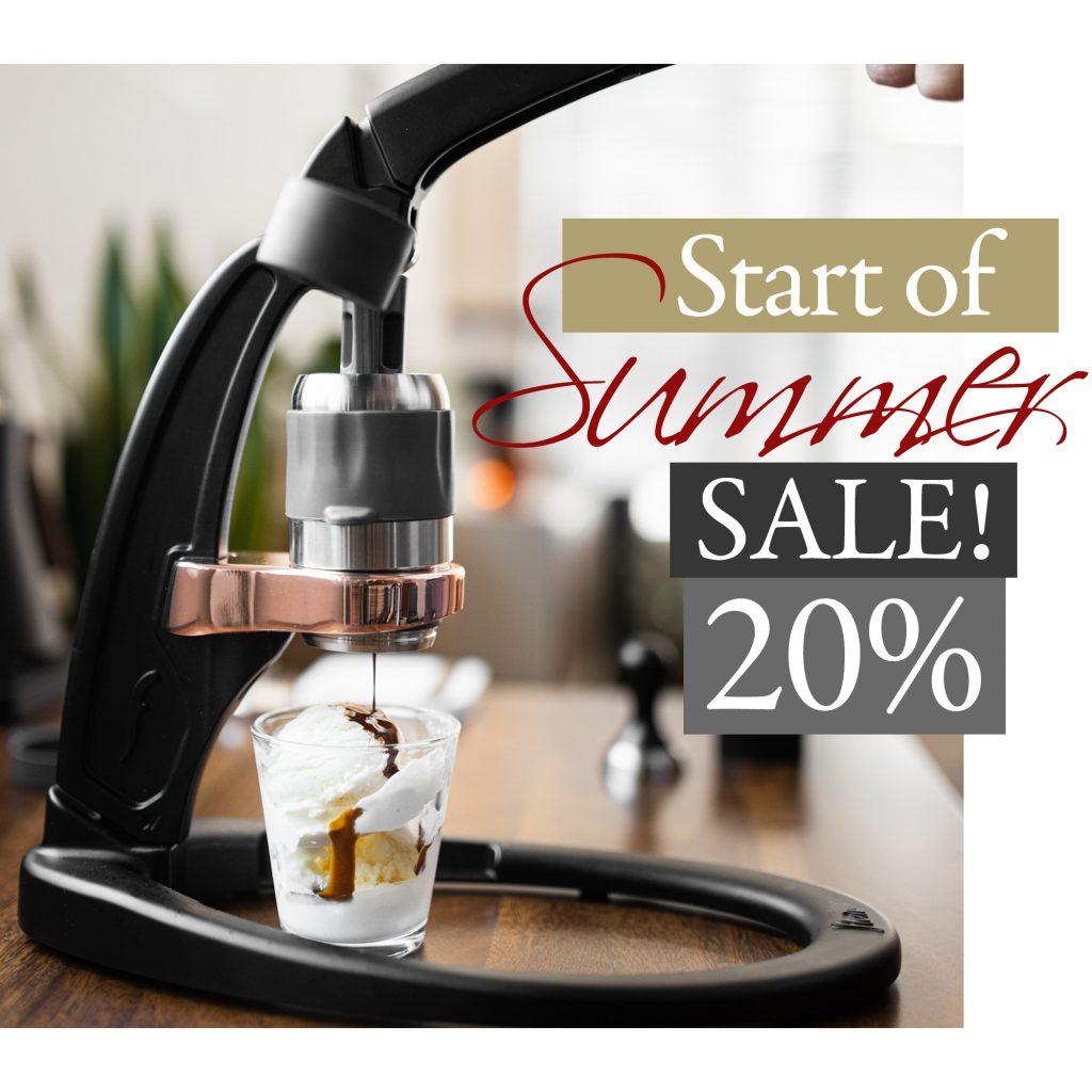 Flair Espresso Labor Day Sale